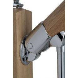 Origin Chrome Universal Handrail Adjustable Connector