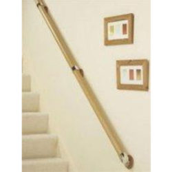 Oak Handrails for Chrome Range Accessories