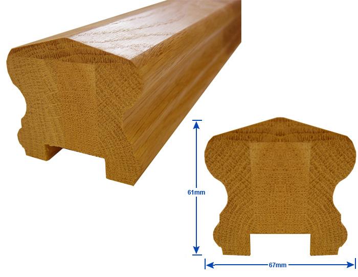 heritage profile handrail
